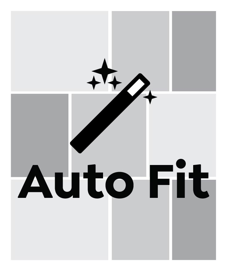 Auto Fit, Narrow Portrait