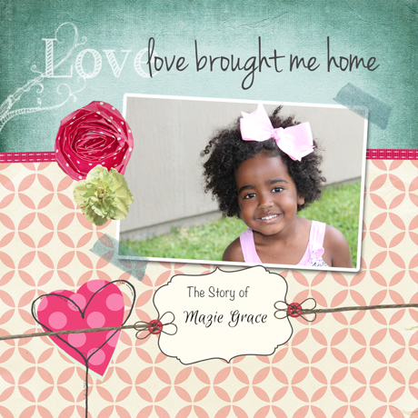 Love Brought Me Home Template Cover Preview