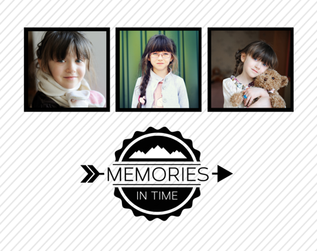 Memories in Time Template Cover