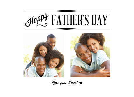 Happy Father's Day Basic Card