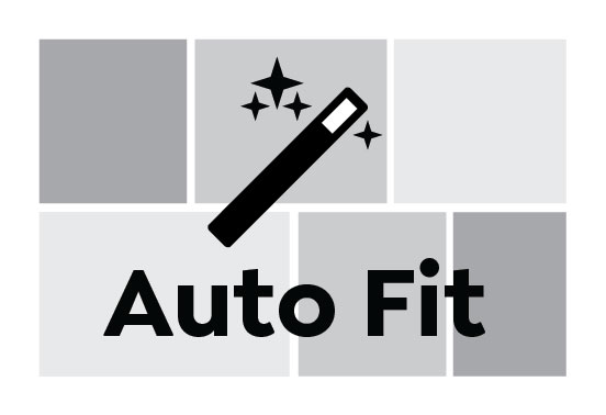 Auto Fit, Greeting Card Landscape