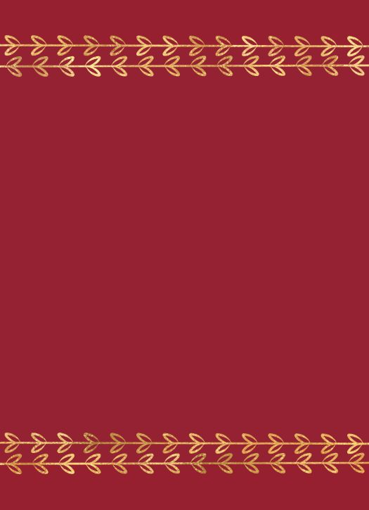 Color Fill Border - Red
