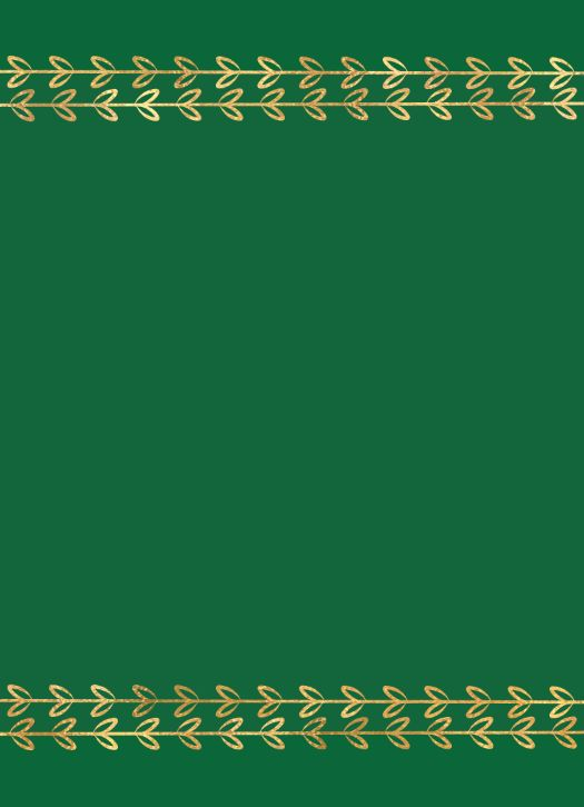 Color Fill Border - Green