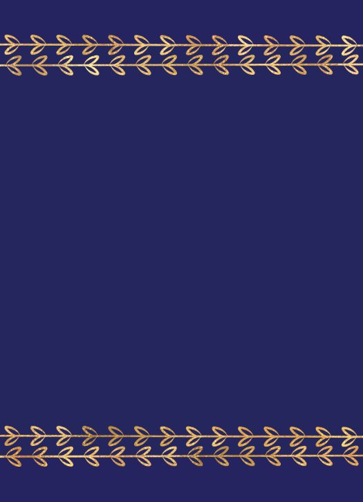 Color Fill Border - Blue