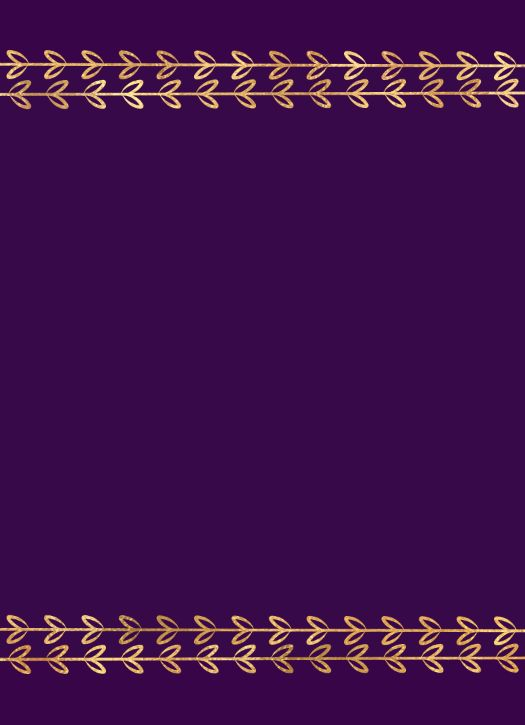 Color Fill Border - Purple