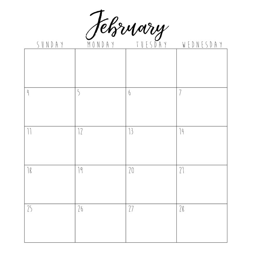 February - part 1