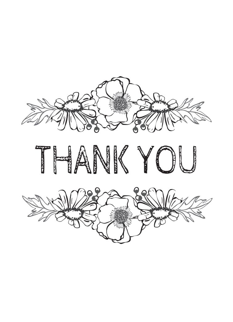 Thank You - Sketch