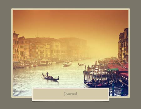 Journal Photo Book Template
