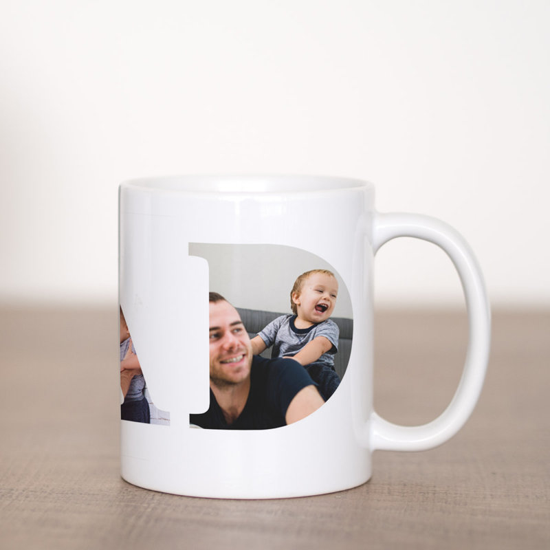 DAD You're The Best Coffee Mug Template