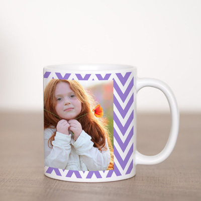 Zig-Zag Coffee Mug Template