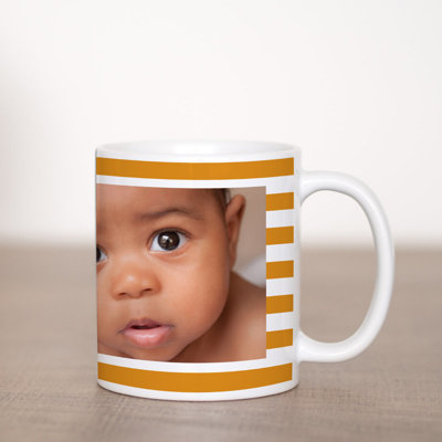 Stripe Coffee Mug Template