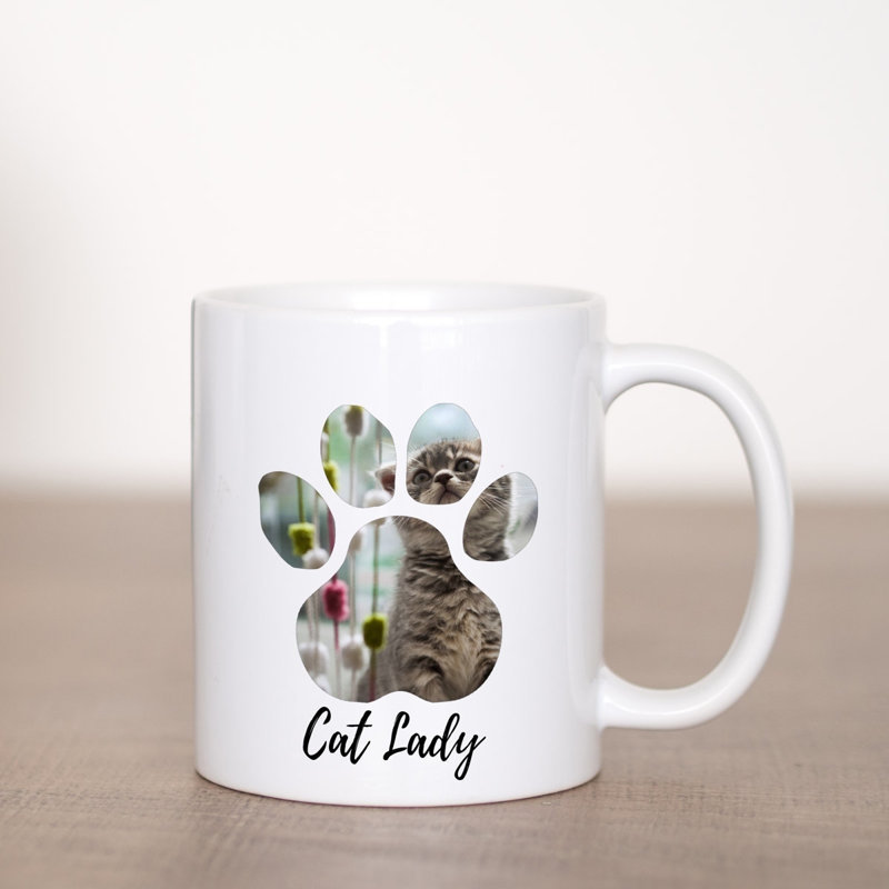 Kitty Mug Coffee Mug Template