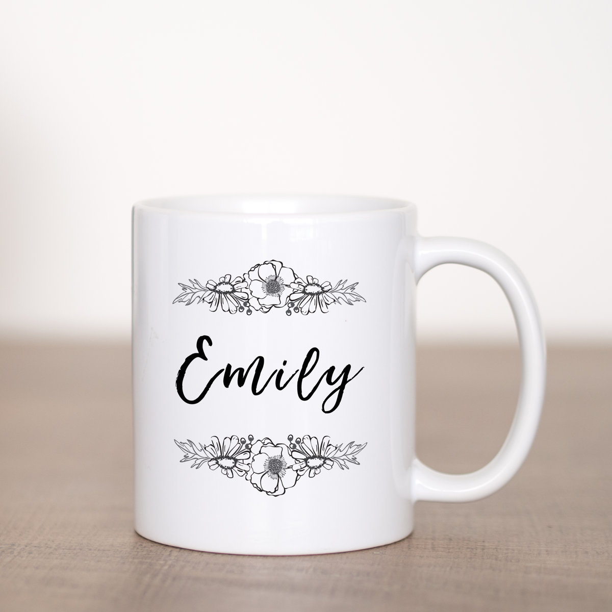 Floral - Custom with Name Template