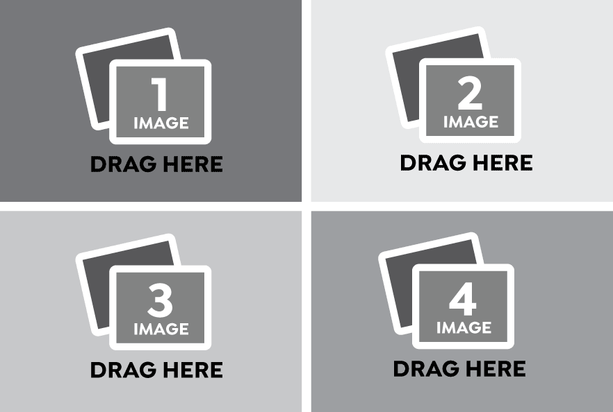 Wide Landscape Photo Collage Templates
