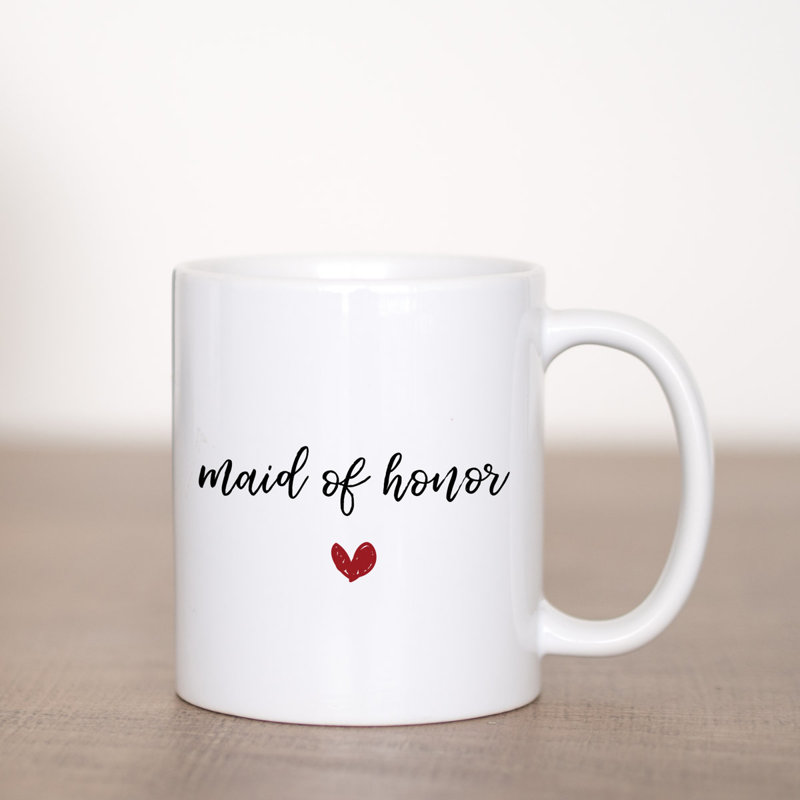 Wedding Party Gifts - Red Heart