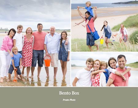 Bento Box Photo Book Template