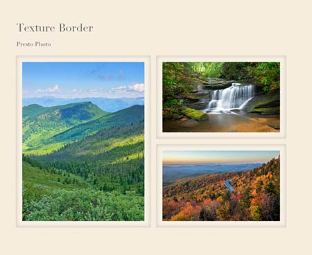 Texture Border Photo Book Template