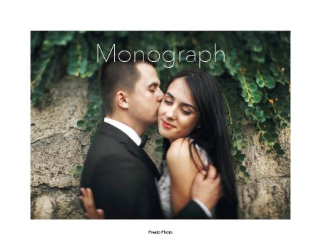 Monograph Photo Book Template