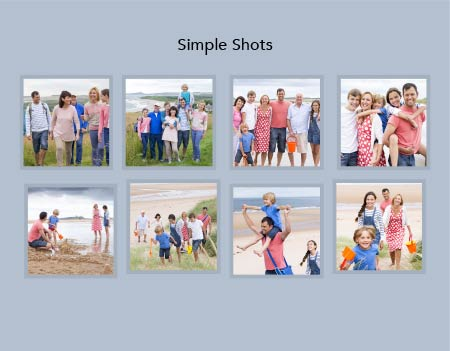 Simple Shots Photo Book Template