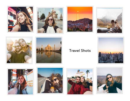 Travel Shots Template