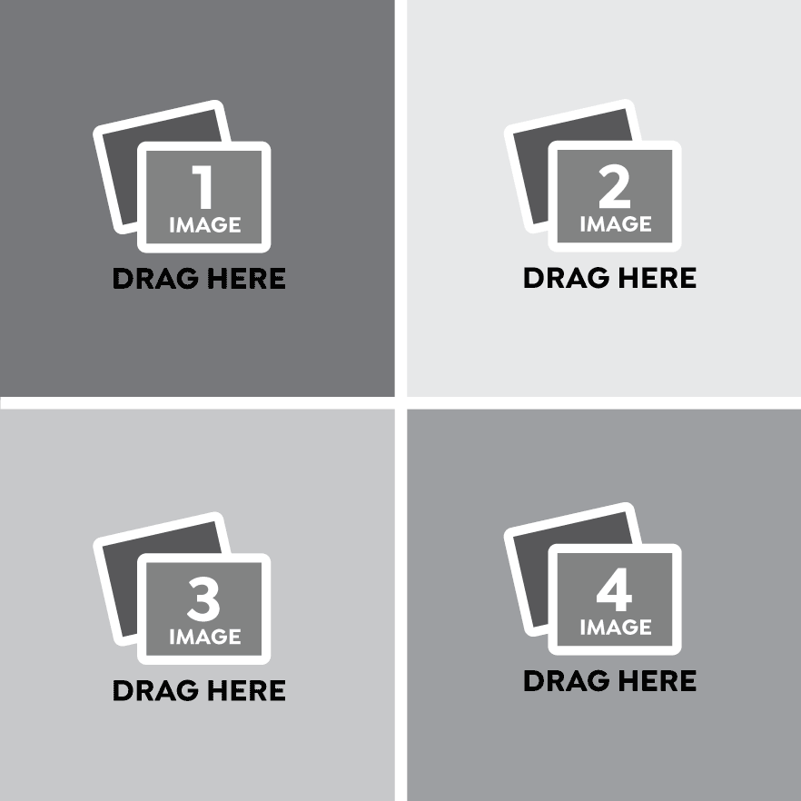 Square Photo Collage Templates