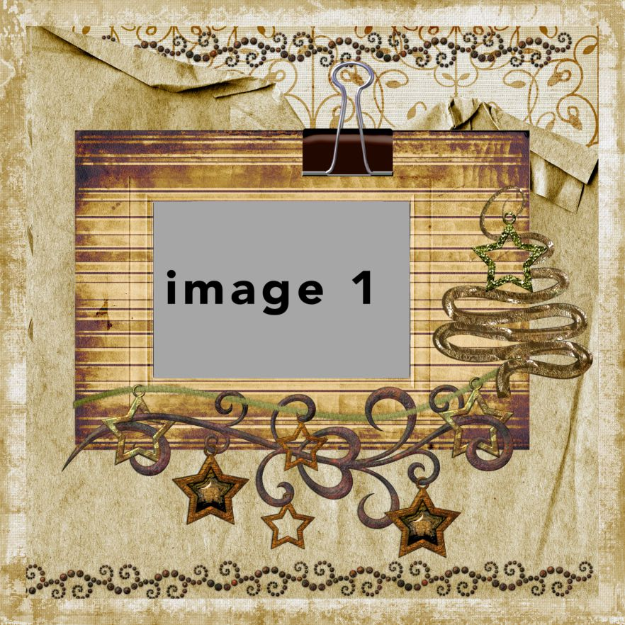 Photo Book Template: Gingerbread
