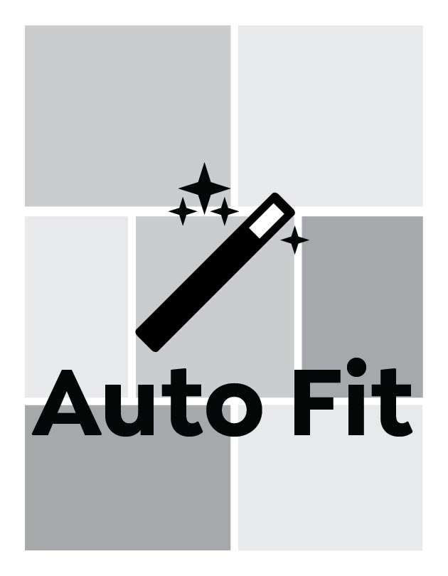 Auto Fit, Portrait