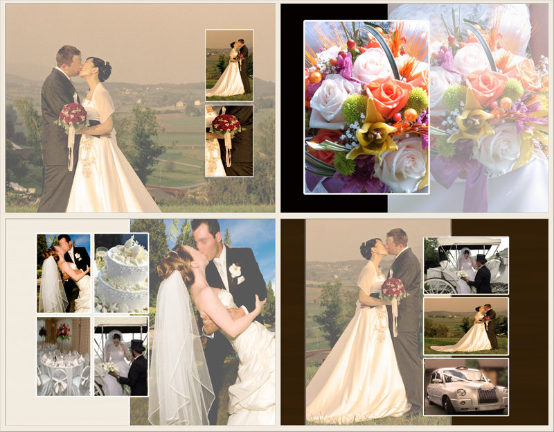 Photo Book Template Wedding Memories