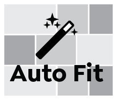 Auto Fit, Narrow Landscape