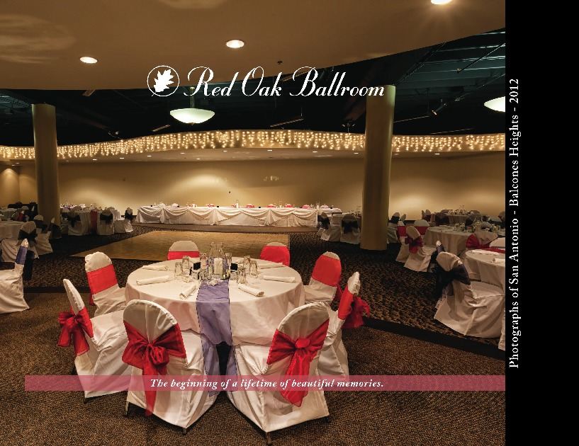 Red Oak Ballroom San Antonio Adobe Indesign Prestophoto