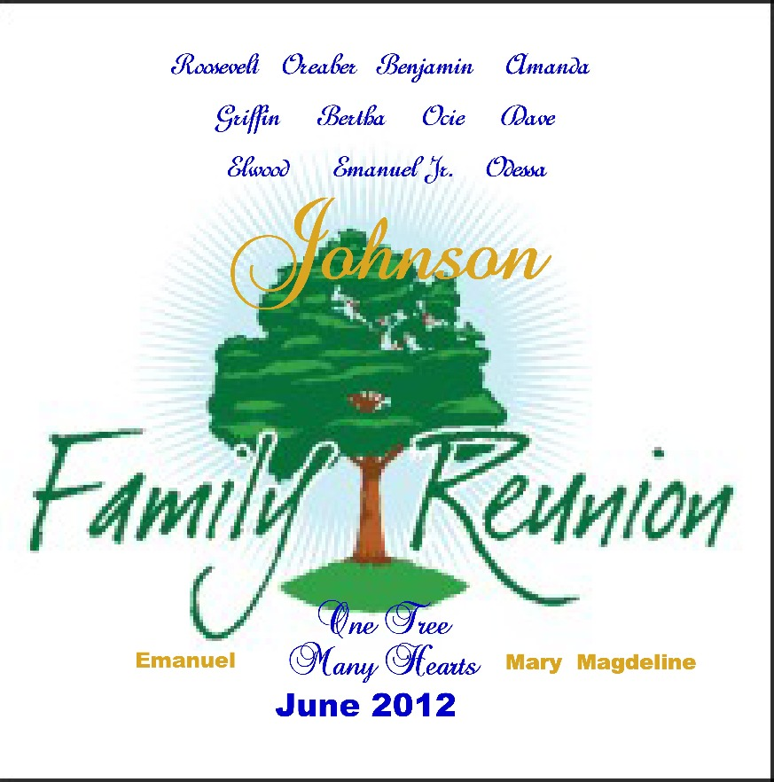 Johnson Family Reunion Two Thousand Twelve
