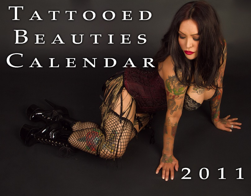 Tattooed Beauties Calendar