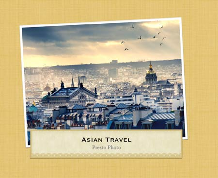 Asian Travel Template Cover