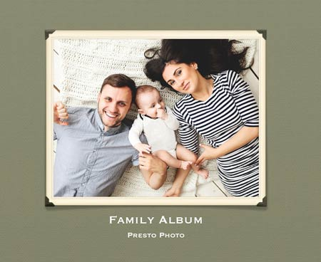Family Album Template Cover