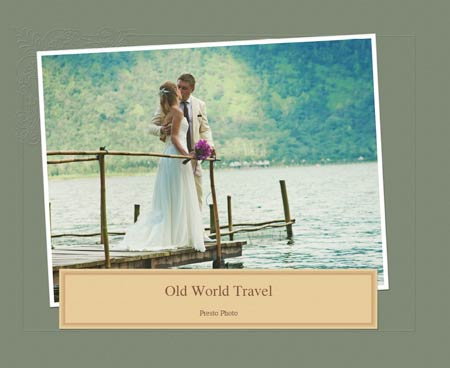 Old World Travel Template Cover