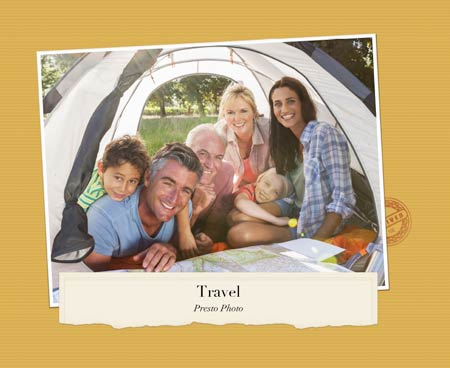 Travel Template Cover