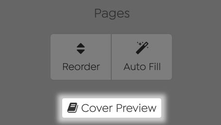 Screenshot of Cover Preview Icon