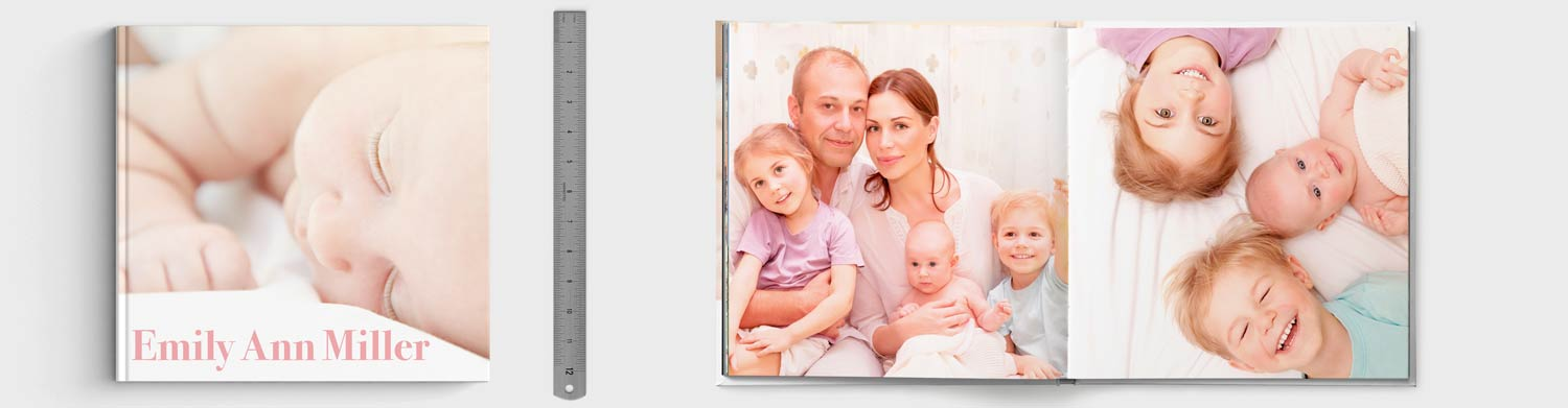 12x12 Seamless Layflat Photo Book
