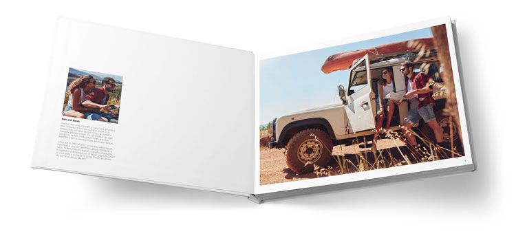 Apple Layflat Photo Book
