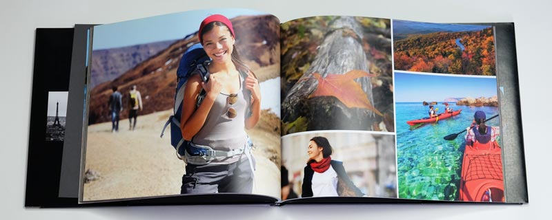 Apple Photo Book Sample Spread