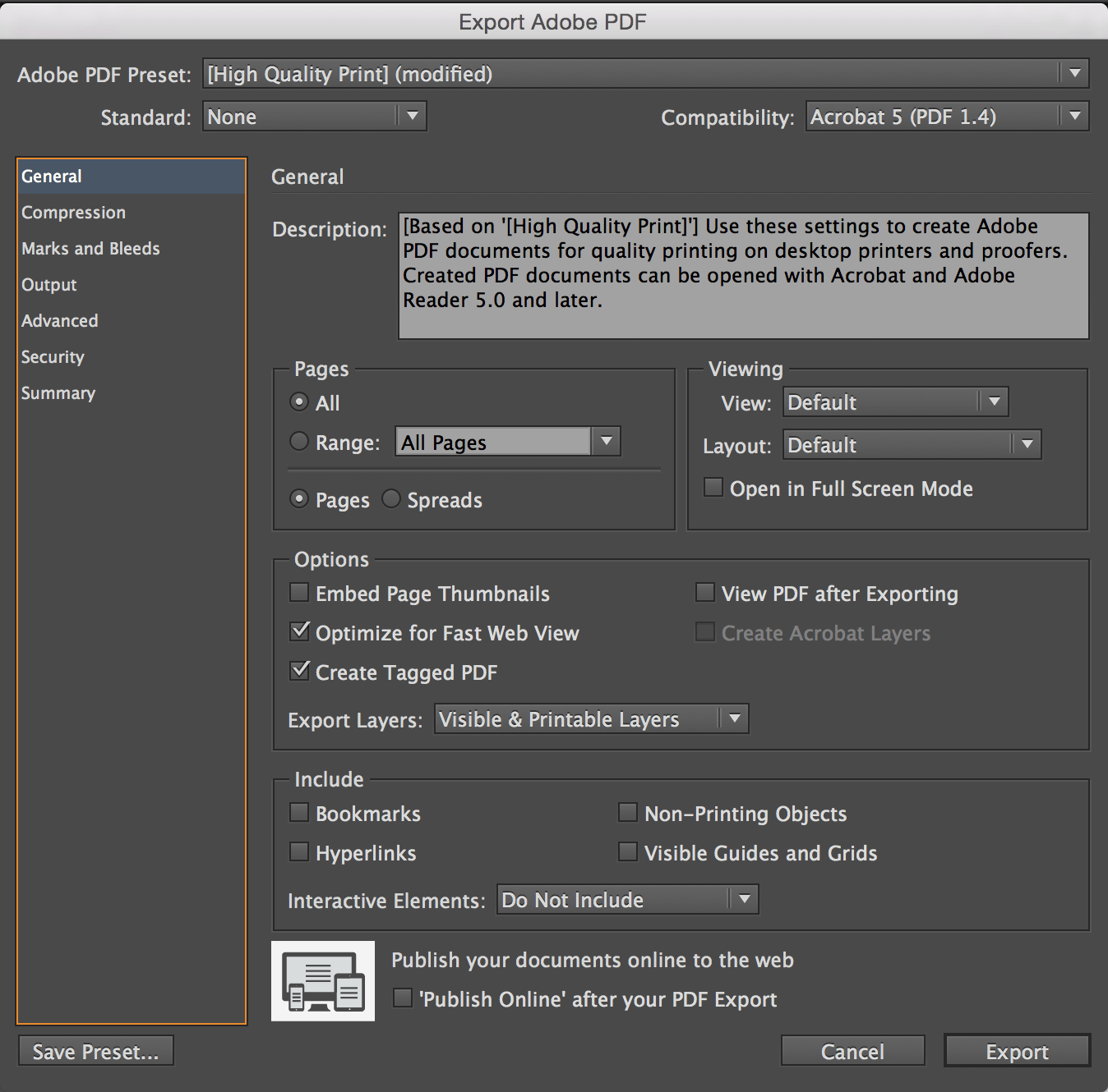 Remove Page Numbers in Aperture