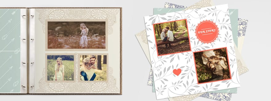 12x12 Printed Scrapbook Pages Prestophoto