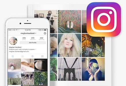 Instagram book mobile