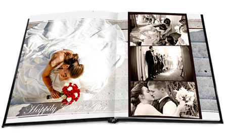 wedding layflat book
