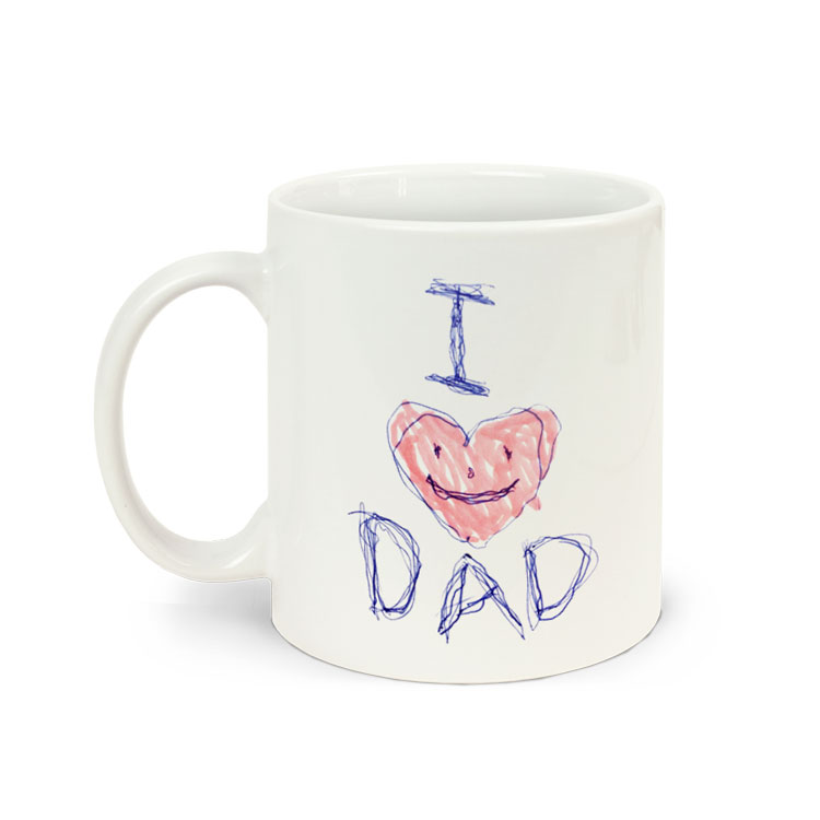 Custom Coffee Mug for Dad