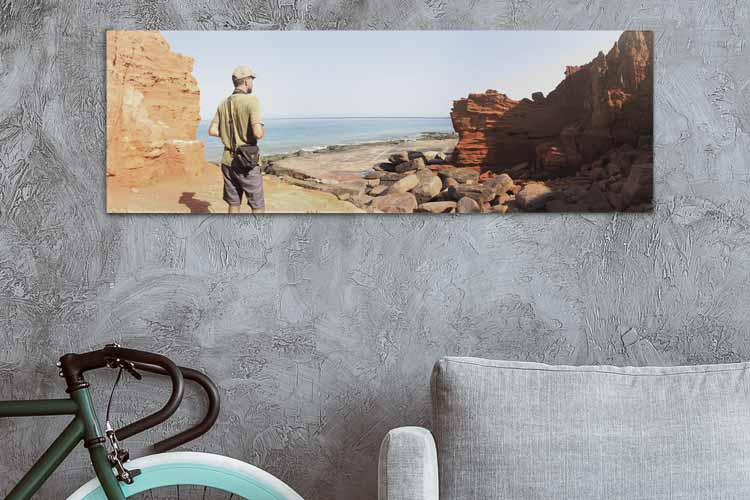 Panoramic Collage Wall Prints