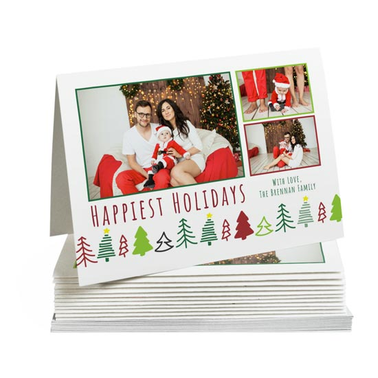 5 inch by 7 inch Folded Greeting Cards