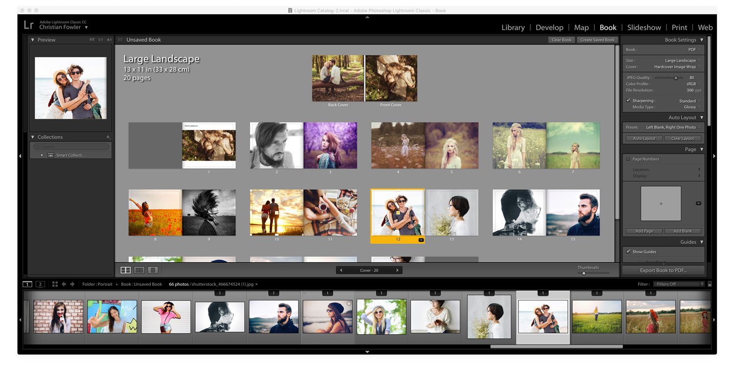 Adobe Lightroom Screen Shot