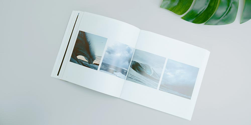 Photo Book on Table