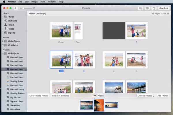 Adjust Text in your Photo Book